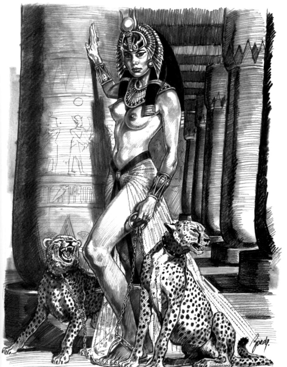 Эротика про древний египет 22 фотография
